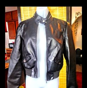 Rue21 faux leather jacket FREE with purchase
